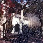 """Courtyard Melodrama"" by JoanneNetland"