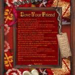 """your friend"" by kathytarochione"
