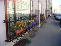 Scenic Street In St. Petersburg