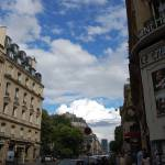 """Clouds on a beautiful day in Paris"" by LRG410"