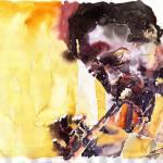 """Jazz Miles Davis 6"" by shevchukart"