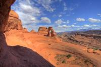 Delicate Arch from the Portal