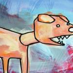 """""""Orange dog"""" by davebloomfield"""