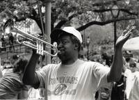 New Orleans Trumpeter