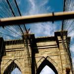 """Brooklyn Bridge Blue Sky"" by LRobinsonIII"