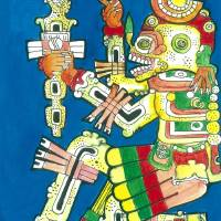 Mayan II by Dancing Horse Art Prints & Posters by Tommy Youngblood