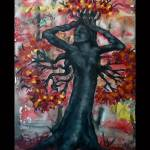 """Autumn Tree Goddess"" by FeliciaMonticelli"