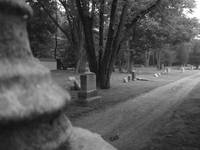 Dirt road, Wanaque NJ Cemetary, 7/30/08