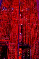 Red Scaffolding