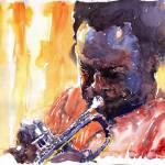 """Jazz Miles Davis 8"" by shevchukart"