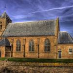 """Zoutelande church"" by pahles"