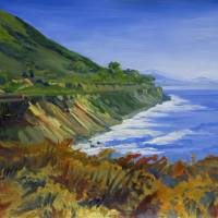 """California Train Tracks: Coast Starlight"" by KeatingArt"