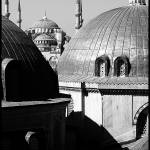 """Blue Mosque as seen from Hagia Sophia, Istanbul"" by carolinehead"