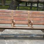 """Bench at Forbidden City"" by qifaindy"