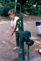 MICHAEL AT THE  WATERPUMP