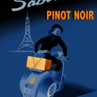 """Saboteur pinot noir poster"" by badvamps"
