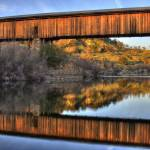 """Knights Ferry Covered Bridge"" by markver"