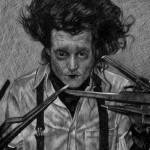 """Edward Scissorhands (Johnny Depp)"" by redd"