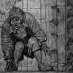 """Quasimodo (Lon Chaney)"" by redd"