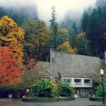 """Multnomah Falls Lodge"" by mrgrinch12"