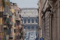 View of the Coloseum