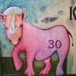 """Black Rhino"" by BoboJunket"