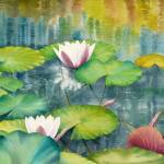 """Waterlilies Collection  I-08"" by mgcruz"