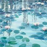 """Waterlilies Collection V-08"" by mgcruz"