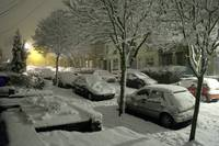 Slow snow in Crookes