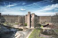 park hill [residential area in sheffield - england