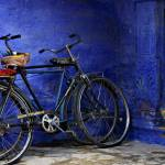 """Bicycles in the ""Blue City"""" by leslein"