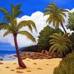 """""""Tropical Island Beach"""" by FredericKohli"""