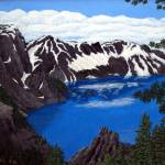 """Crater Lake"" by FredericKohli"