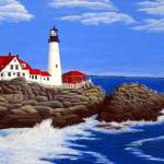"""Portland Head Lighthouse"" by FredericKohli"
