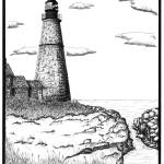 """Simple Lighthouse"" by RoughSketching"