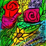 """Bright Flowers"" by melsky"