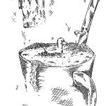 """Coffee Cup Bath"" by RoughSketching"