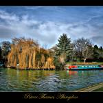"""Abingdon Thames"" by annemade-art"