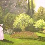 """LADY IN GARDEN"" by minniti"