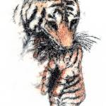 """""""Mother Tiger"""" by RoughSketching"""