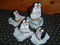 Penguins group of four (4)