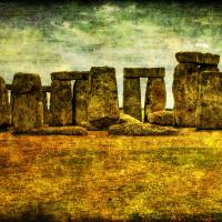 Stonehenge Art Prints & Posters by Anna Yanev