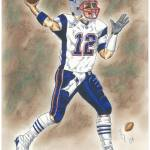"""Tom Brady"" by BobDowner"