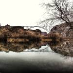 """The Perrine Bridge, Centennial Park"" by MatthewBrander"