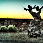 """The Twins Statue"" by MatthewBrander"