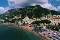 Beach at Amalfi