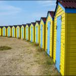 """Beach Huts"" by Gallery204"