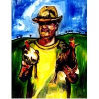 El gallero Art Prints & Posters by Jesus James Ruiz