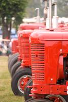 Red Historic Tractors