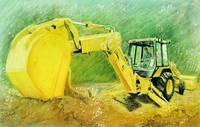 Yellow-Tracktor